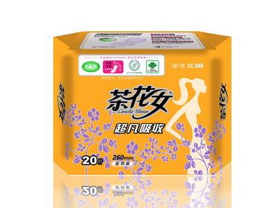 CH90         20片学生装棉柔夜用卫生巾